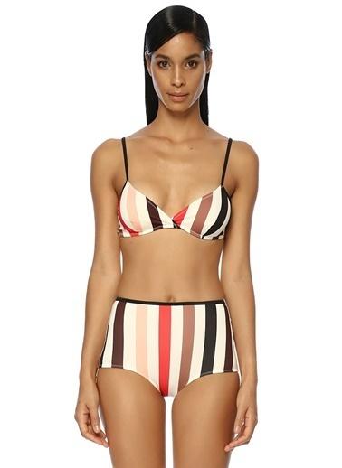Solid & Striped Bikini Üst Renkli